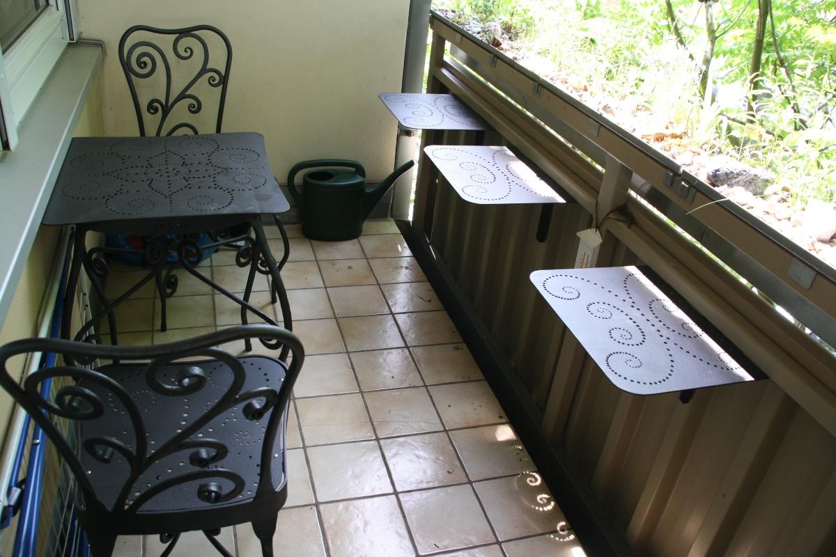 f r garten und balkon heisses eisen. Black Bedroom Furniture Sets. Home Design Ideas